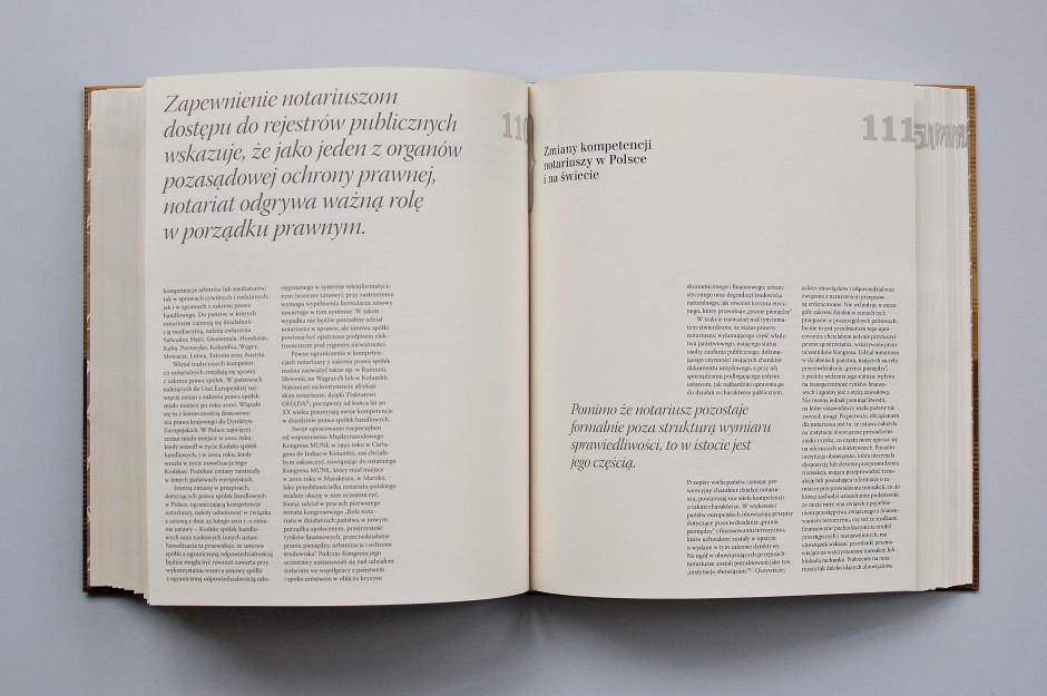 Wydawnictwo jubileuszowe na 20-lecie Izby Notarialnej w Krakowie