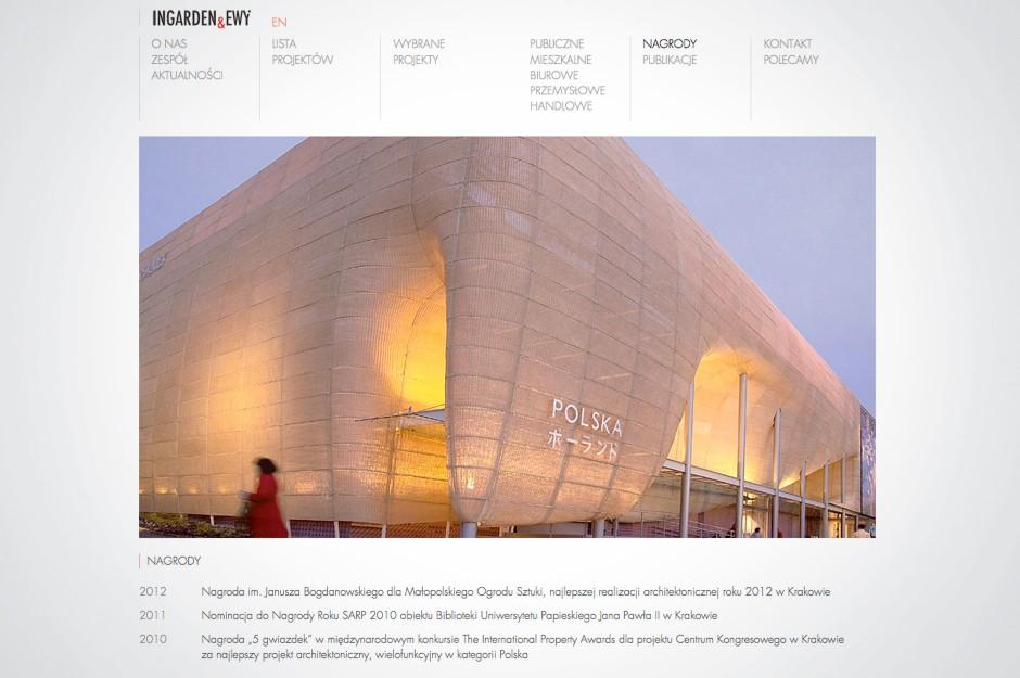 Strona www Ingarden&Ewy