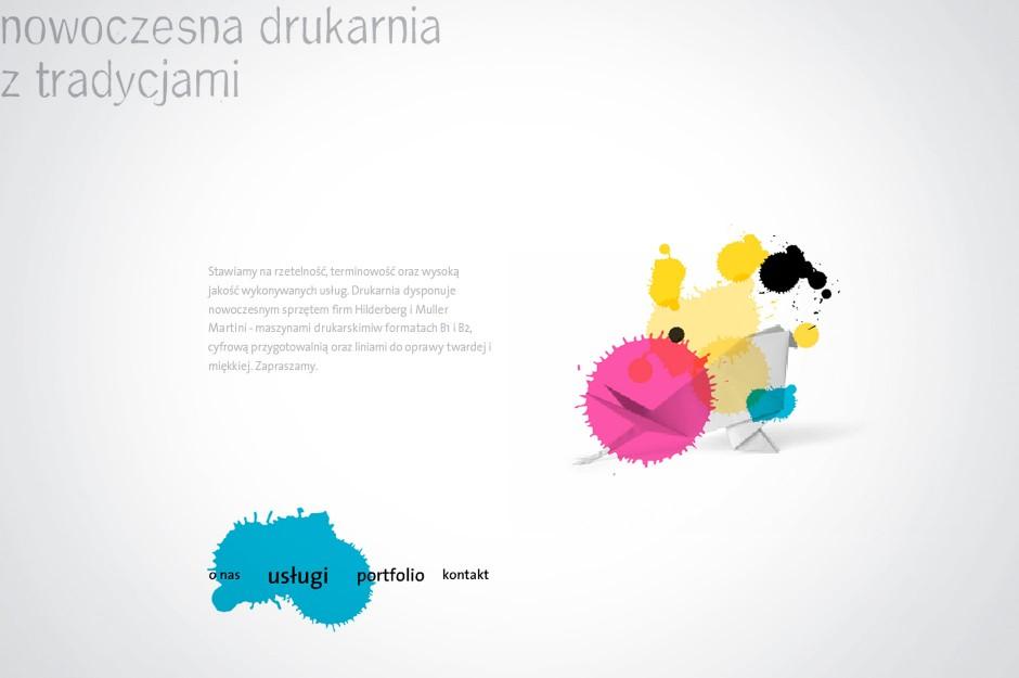 Strona www Drukarnia Skleniarz