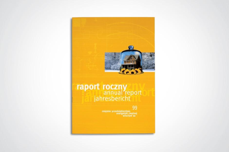 Raport roczny MPEC Wrocław 1999