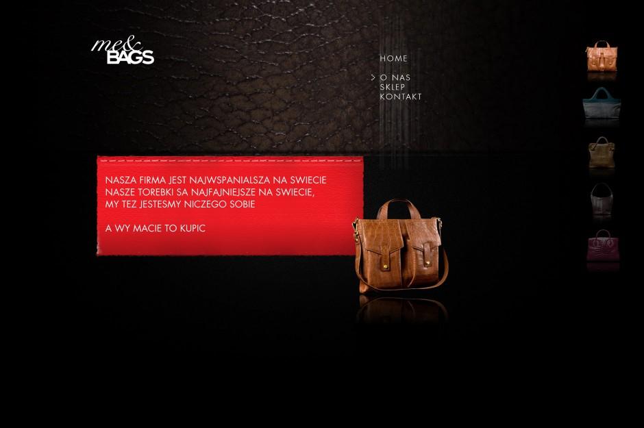 Strona www Me&Bags