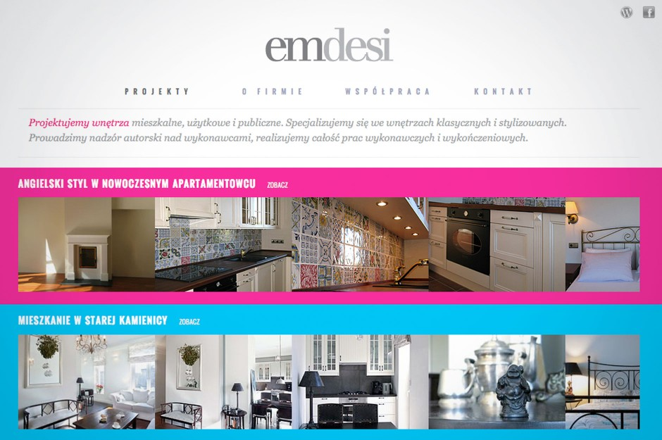 Strona www Emdesi