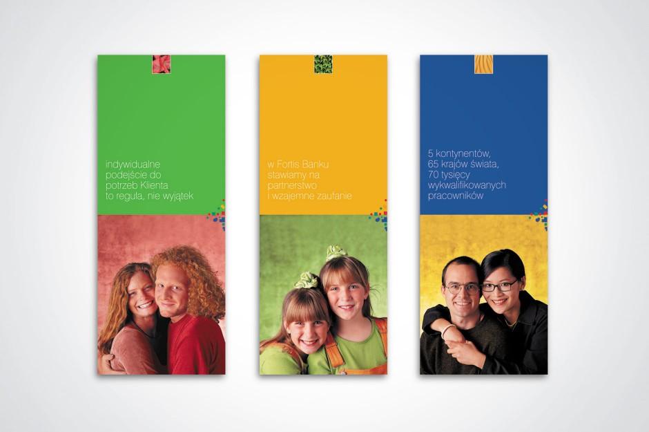 Materiały promocyjne dla Fortis Bank