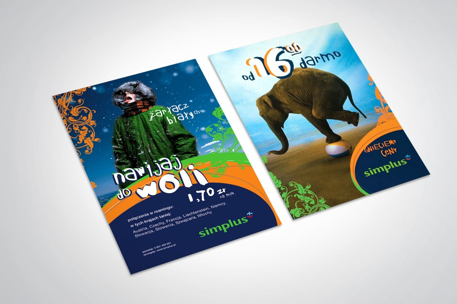 Koncepcja graficzna marki Simplus